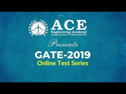 New Year Offer!  25% Discount on ACE Online Test Series
