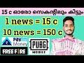 Read News Earn Money | 2020 Best Money Making App Malayalam | New Money Making App Malayalam 2020
