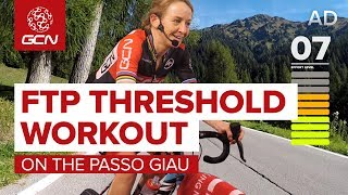 HIIT Indoor Cycling Workout | 55 Minute FTP Threshold Intervals