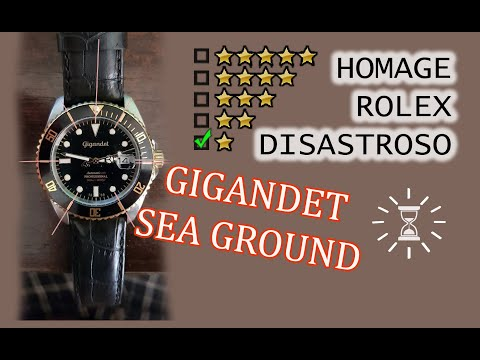 Gigandet Sea Ground automatico G2–018 - recensione ⭐