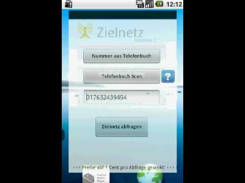 Video of Zielnetz Flatrate Networkscan