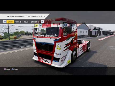 Truck Racing Championship - ETRC Round 5: Autodrom Most, Day 2 Practice 2 * No Commentary Long Play