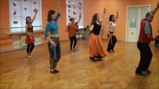 Открытый урок в cтудии танца Yes.Камаль Баллан.(2015)