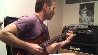 Dokken - Burning Like A Flame Tone Cover (Mesa Boogie Mark IV and Anderson Drop Top)