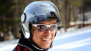 Wayne Wong skiing tricks and the origins of freestyle skiing and hotdogging