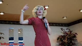 Holly Performs Boogie Woogie Bugle Boy