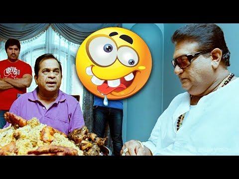 Brahmanandam Eating Comedy Scene | Malayalam Comedy Scenes 2018 | Nayak Movie