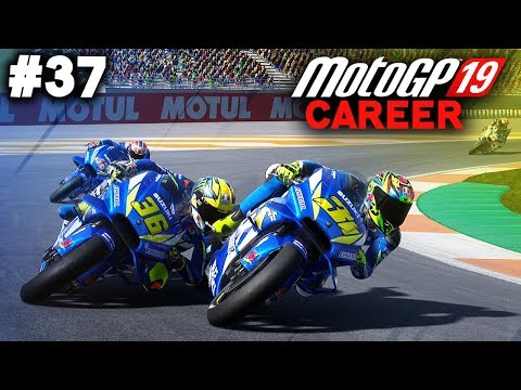 MotoGP 19 Career Mode Gameplay Part 37 - FINALE & MOVING TEAMS! (MotoGP 2019 Game PS4 / PC)