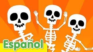 El Baile Del Esqueleto  | Canciones Infantiles De Halloween | Super Simple Español