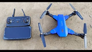 Best Foldable Wi-Fi Camera Drone | WiFi FPV HD camera drone | unboxing & testing