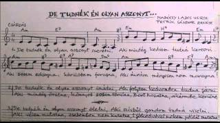 Petrik Sándor - Magócsy Lajos: De tudnék én olyan asszonyt szeretni...