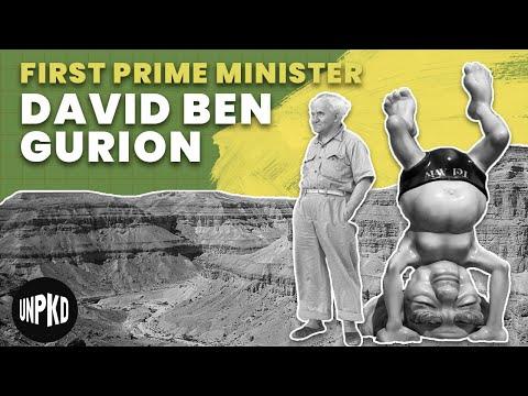 סיפורו של ראש הממשלה הראשון של ישראל, דוד בן-גוריון