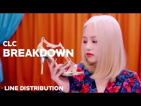 CLC - BREAKDOWN Line Distribution \ 씨엘씨