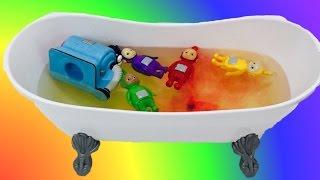 TELETUBBIES Toys Color Water Bath!