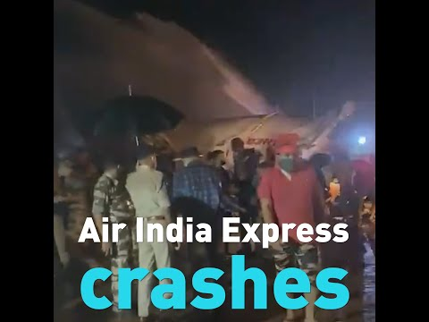 Fresh video from Air India crash