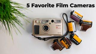 5 Favorite Film Cameras 35mm & 120