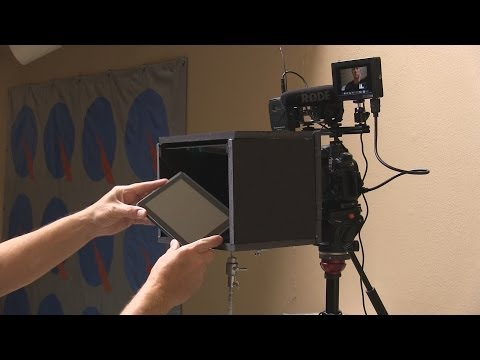 Building a Teleprompter Rig