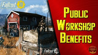 Fallout 76: The Great Benefit of Public Workshops