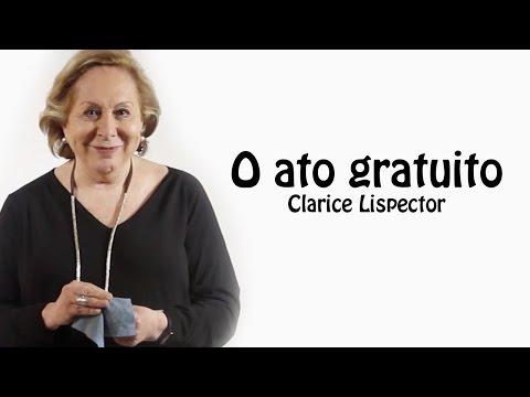 POEMA: O ato gratuito - Clarice Lispector por Aracy Balabanian