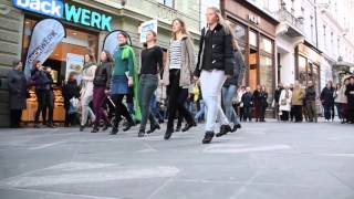 Irish Dancing Flashmob - Copova, Ljubljana