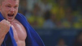Dimitri Peters Win's Men's Judo -100kg Bronze - London 2012 Olympics