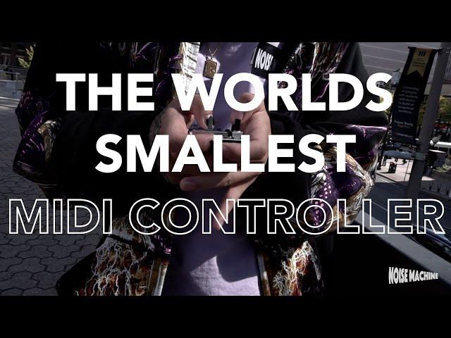 Крошечный MIDI-контроллер Noise Machine позволит создавать музыку на ходу