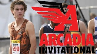 ARCADIA INVITATIONAL DAY 1