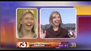 Phoenix Meteorologist pokes fun of Mom on TV