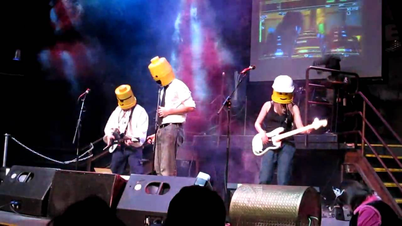 See The REAL Lego Rock Band At Ümloud!