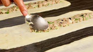 Всего 3 ингредиента и любимая начинка! Это блюдо вы запомните на всю жизнь!
