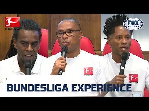 Bundesliga Experience: astros da competição falam ao vivo do Rio de Janeiro