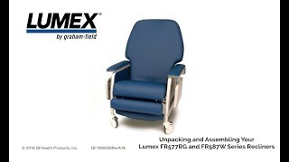 Lumex® Recliner UnBoxing Video HD Youtube Video Link