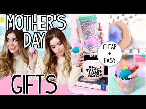 EASY Last Minute DIY Mother's Day Gifts 2018! Cheap & Cute Gift ideas for your mom!