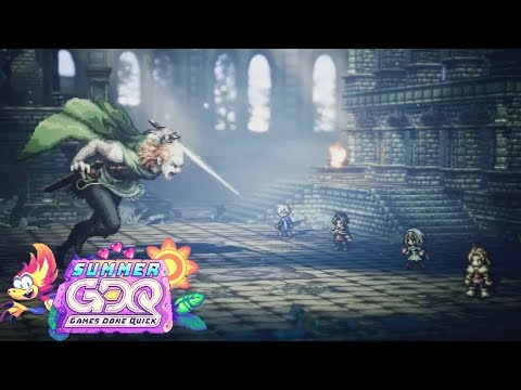 Octopath Traveler by altabiscuit in 1:15:51 SGDQ2019