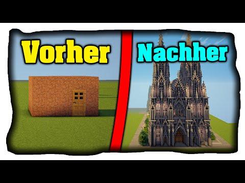 Wie Baut Man Ein Schönes Haus In Minecraft Minecraft Haus Schöner - Minecraft schones haus bauen anleitung