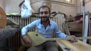 Yusuf Köse Dane Dane Benleri Var Yüzünde 46 Tekne Oyma Dut Divan Bağlama Alıcı Saz Evi