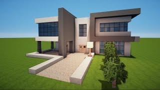 Descargar MP De Minecraft Modernes Haus Bauen Gratis BuenTemaMpcom - Minecraft hauser bauen tutorial