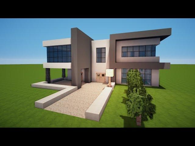 Minecraft modernes haus bauplan moderner with minecraft for Minecraft modernes haus youtube