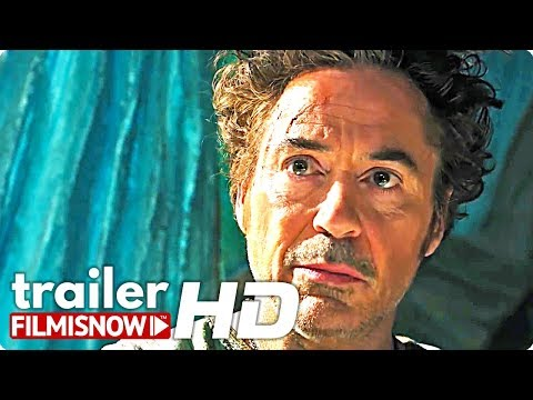 Dolittle Trailer Starring Robert Downey Jr.
