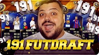 FINALMENTE 191 FUT DRAFT CHALLENGE !!! CHE SQUADRA [FIFA 17]