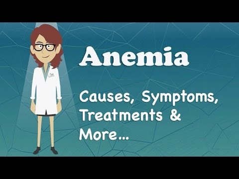 Video Anemia - Causes, Symptoms, Treatments & More…