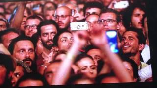 """Video thumbnail of """"Emotional Eddie Vedder sings Black @ Firenze Rocks"""""""