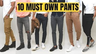 10 Modern Pant Styles Every Guy Should Own
