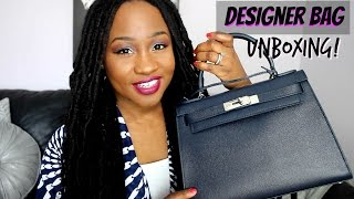New designer bag Eva Saffiano Leather Unboxing