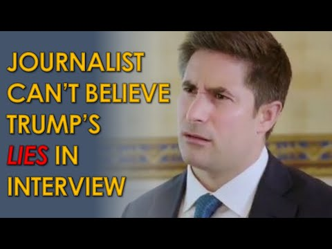 Jonathan Swan BAFFLED by Trump's lies in new HBO Axios Interview