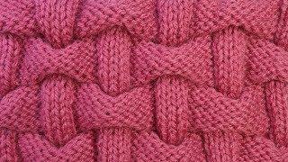 Шапка плетенка спицами схема с описанием женские