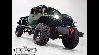 116049 1947 Dodge Power Wagon Quad Cab *SOLD*