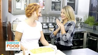 Lo Bosworth's Ham and Gruyere Macaroni and Cheese – Everyday Food with Sarah Carey