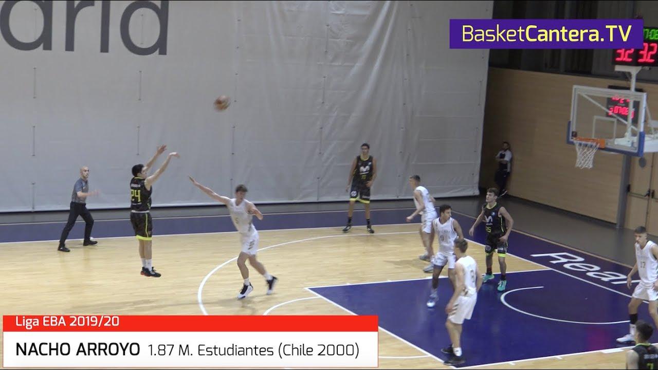 NACHO ARROYO 1.87 m. Estudiantes (Chile 2000). De la Cantera al 1º equipo Senior (BasketCantera.TV)