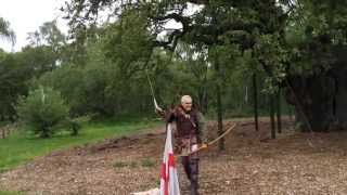 Longbow shooting and Robin Hood history by Kevin Hicks